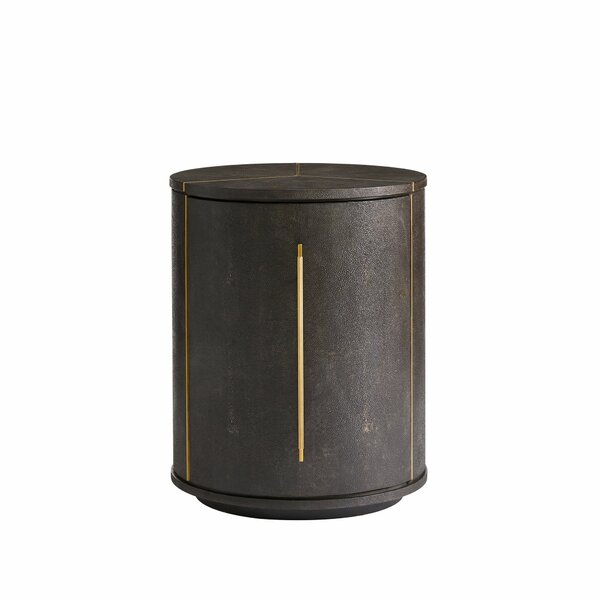 Panavista End Table with Storage by Stanley Furnit