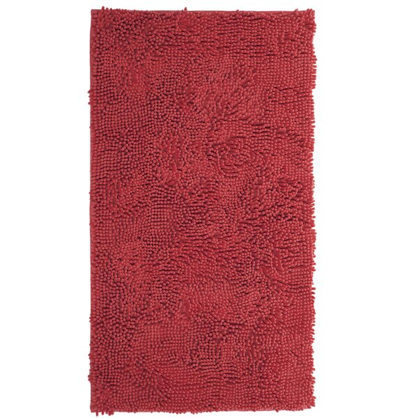 High Pile Coral Area Rug by Lavish Home