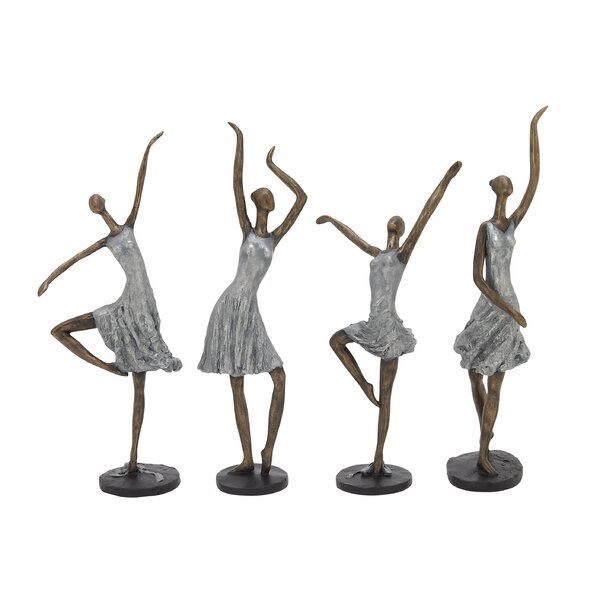4 Piece Ladies Figurine Set by Cole & Grey