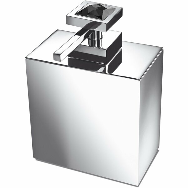 Lanz Square Soap & Lotion Dispenser by Everly Quinn