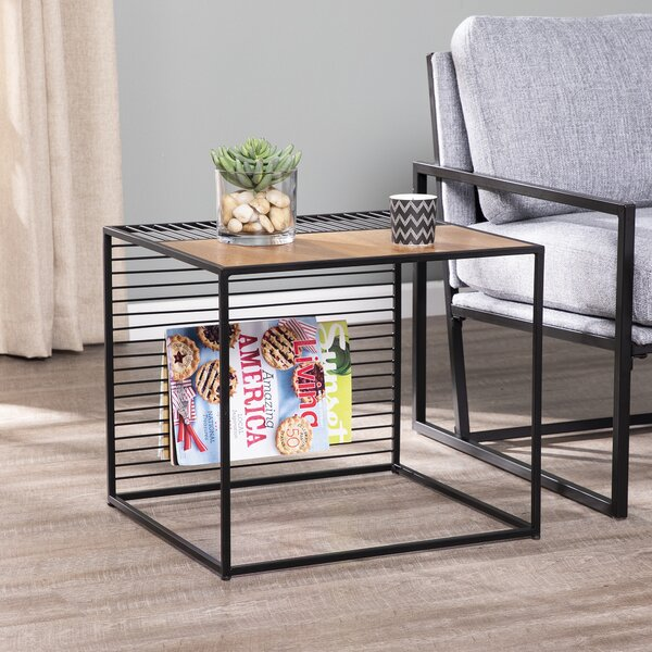 Hodge End Table by Williston Forge