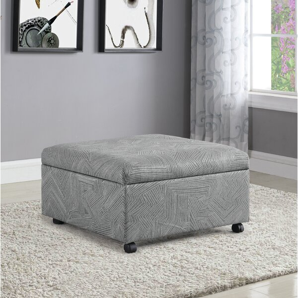 Elamin Lift Top Storage Ottoman by Latitude Run