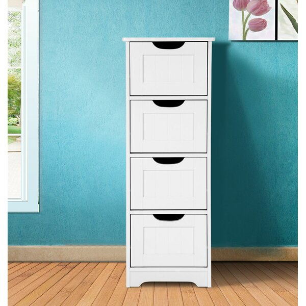 Jocelyn 12 W x 32 H Cabinet by Rebrilliant