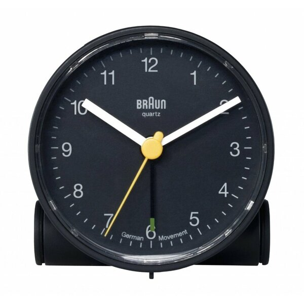 Round Alarm Tabletop Clock by Braun