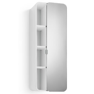Linea Bej 12 x 31.9 Surface Mount Medicine Cabinet By WS Bath Collections