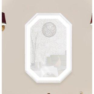 Price comparison Rife LED Lighted Wall Mirror ByOrren Ellis