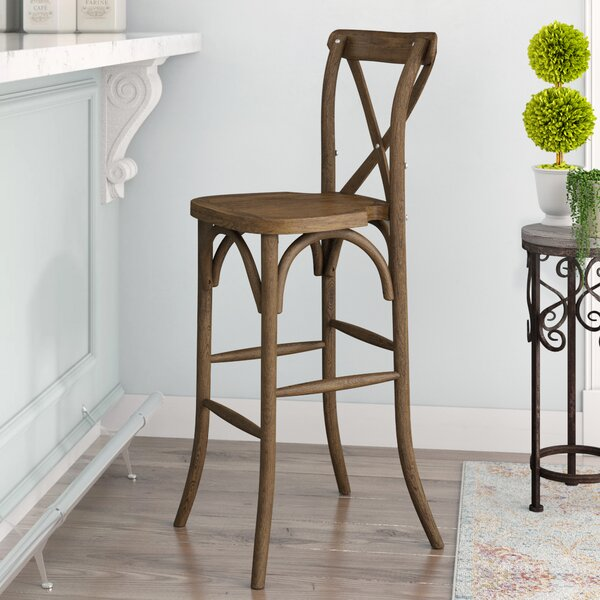 Louie 30 Bar Stool by Gracie OaksLouie 30 Bar Stool by Gracie Oaks