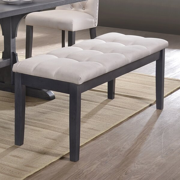 Sheridan Wood Bench by Darby Home Co
