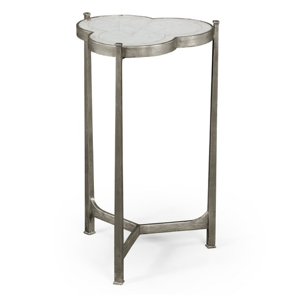 Trefoil End Table by Jonathan Charles Fine Furniture