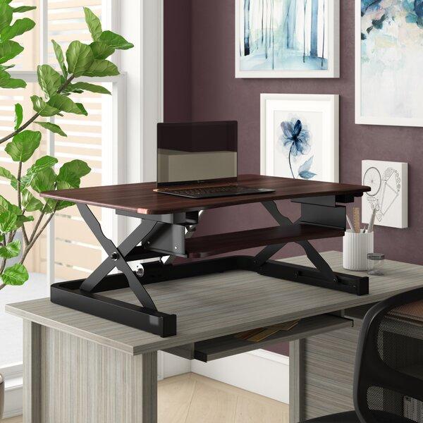 Electric Height Adjustable Standing Desk Converter [ApexDesk - W001520664]