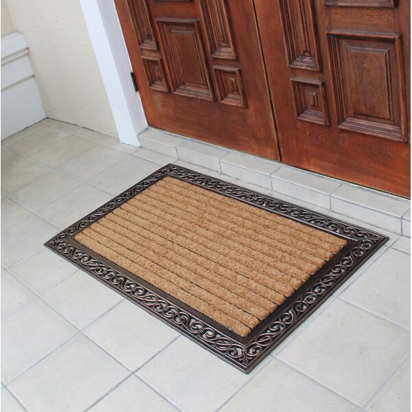 Striped Double Doormat by A1 Home Collections LLC
