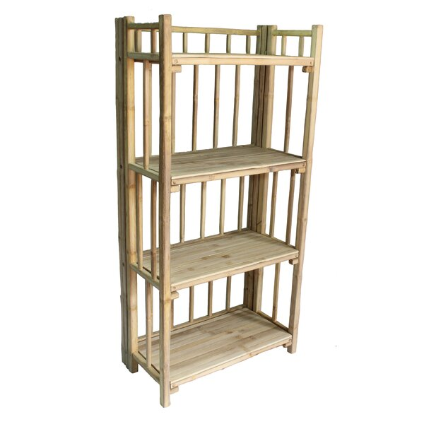 Cristopher 4 Tier Standard Bookcase by Bay Isle Home Bay Isle Home