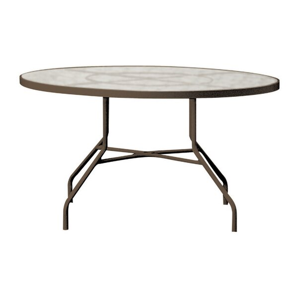 Valora Plastic/Resin Dining Table by Tropitone
