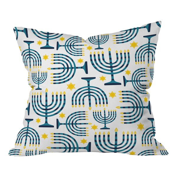 Zoe Wodarz Holiday Lights Indoor Throw Pillow by Deny Designs