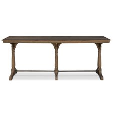 Tri Columned Console Table by Sarreid Ltd
