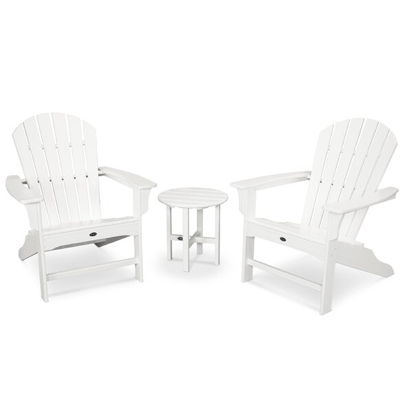 Yacht Club Shellback 3 Piece Seating Group by Trex Outdoor
