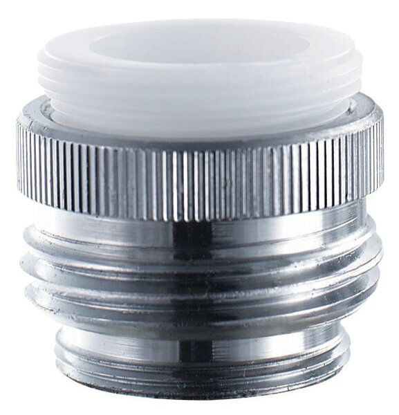Low Lead Dual Fit Faucet Adapter by Waxman