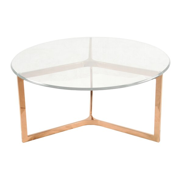 Ziegler Coffee Table by Orren Ellis