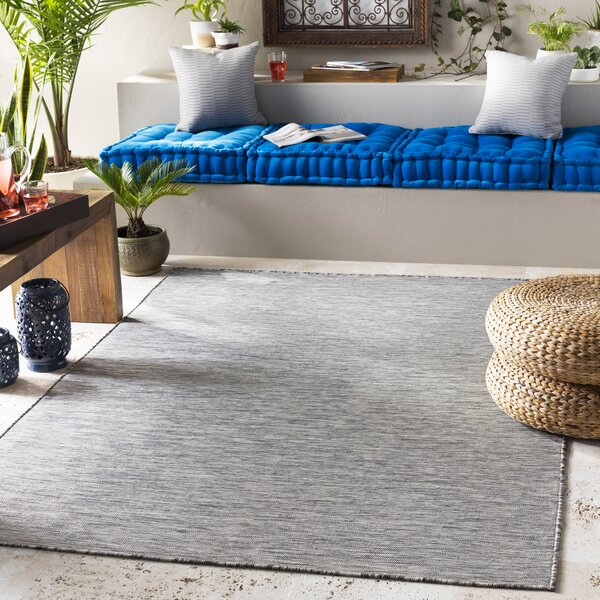 Elihu Dark Gray Area Rug