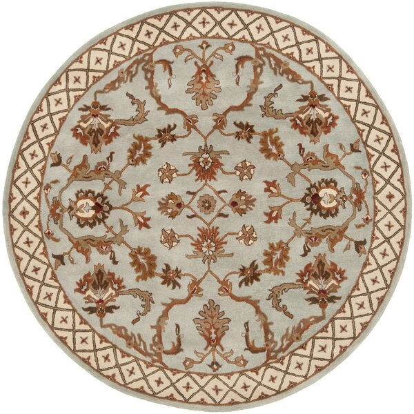 Serene Hand-Woven Blue/Beige Area Rug by Continental Rug Company