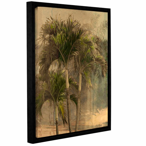 Palmae II Framed Painting Print by Bay Isle Home