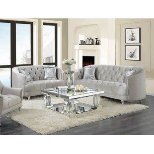 Wittig 3 Piece Living Room Set by House of Hampton®