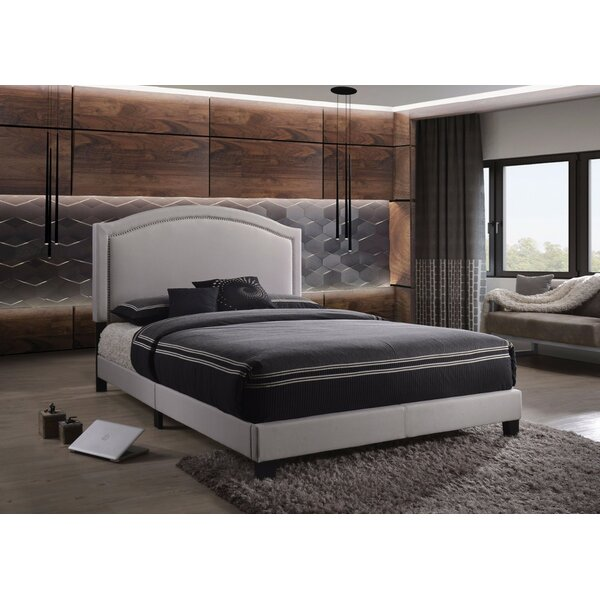 Duffner Queen Upholstered Platform Bed by House of Hampton