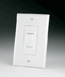 White Replacement Wall Switch - 115V by Da-Lite