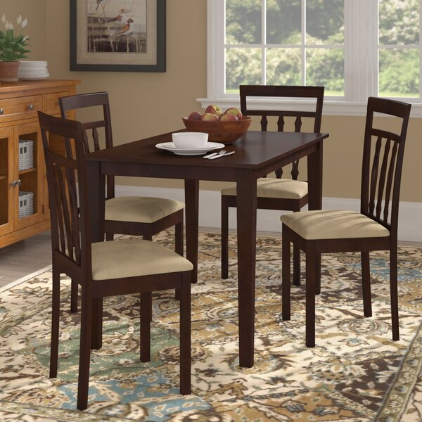 Vivien 5 Piece Dining Set by August Grove
