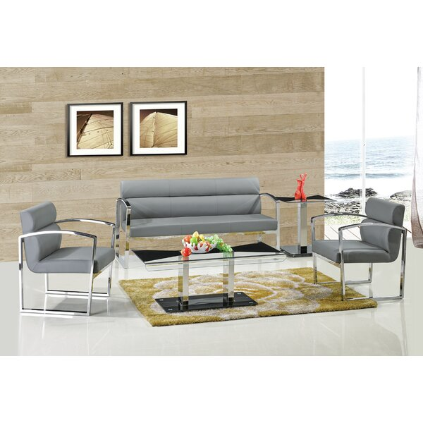 Trafecanty 3 Piece Living Room Set by Orren Ellis