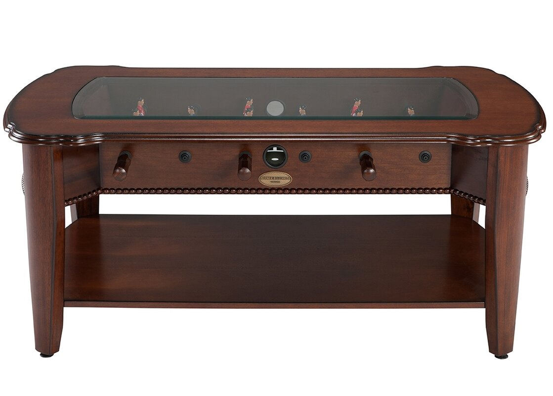 Berner billiards 2 in 1 foosball coffee table reviews wayfair 2 in 1 foosball coffee table geotapseo Image collections