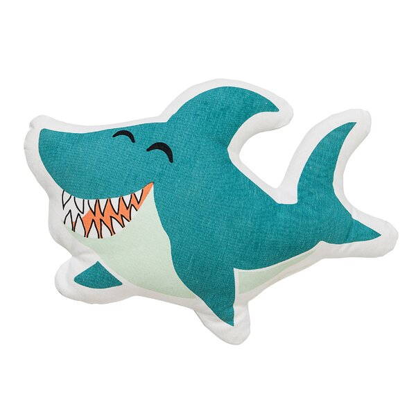 Nikolas Shark Pillow by Viv + Rae