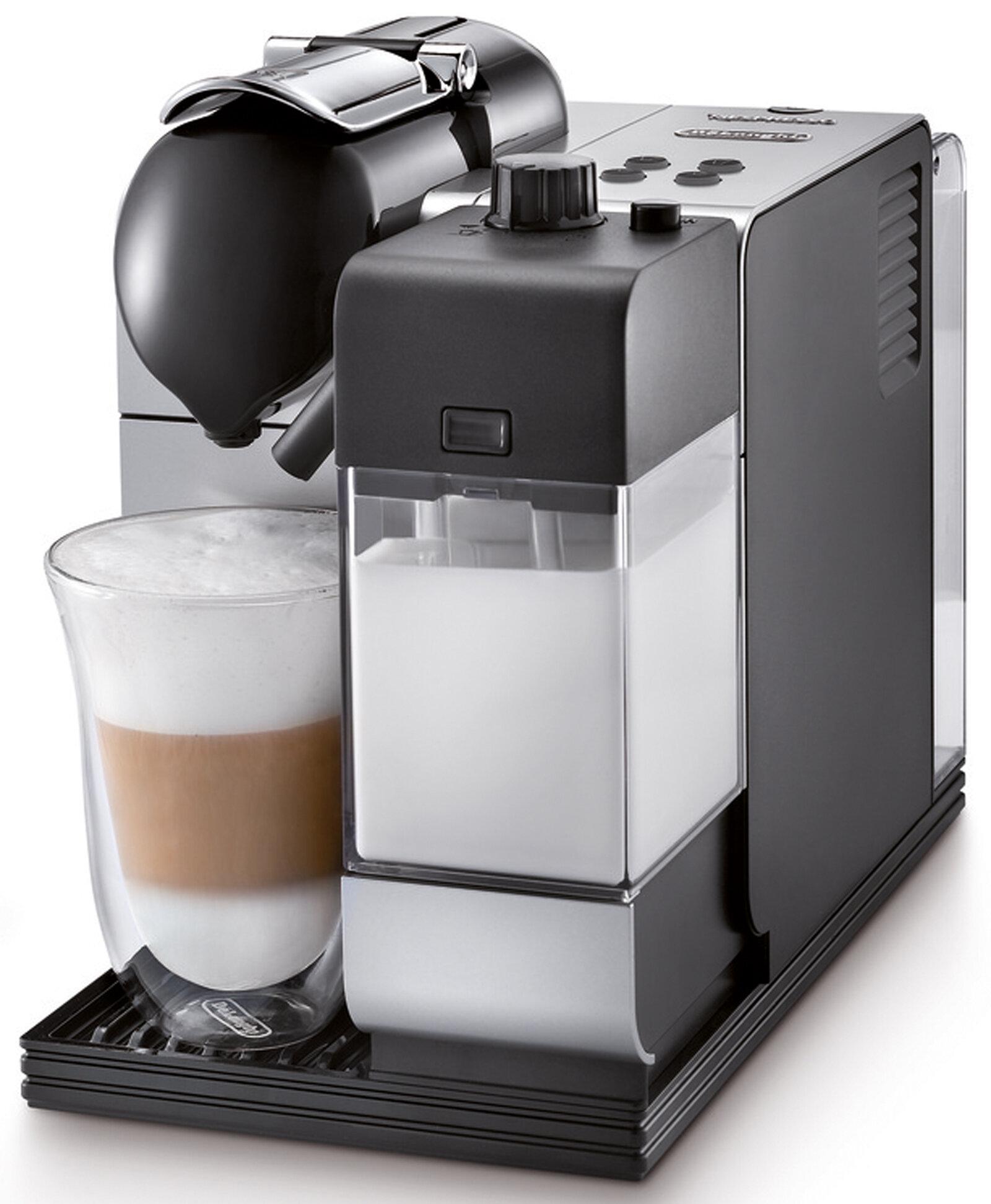 Nespresso Lattissima Espresso Machine With Aeroccino Milk Frother By Delonghi