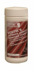 Ultimate Adhesive Remover Towel Wipes by Bostik