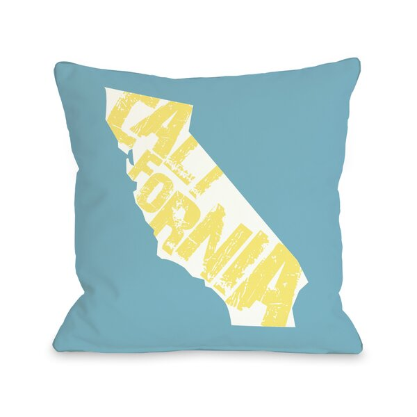 California State Silo Throw Pillow by One Bella Casa