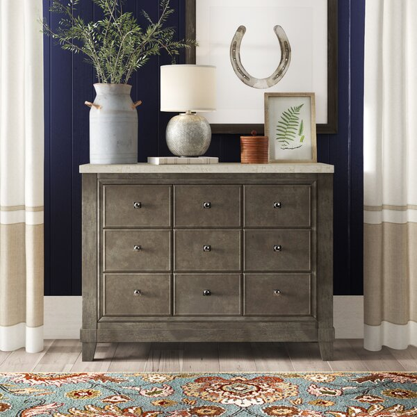Noreen 3 Drawer Apothecary Accent Chest By Birch Lane™ Heritage
