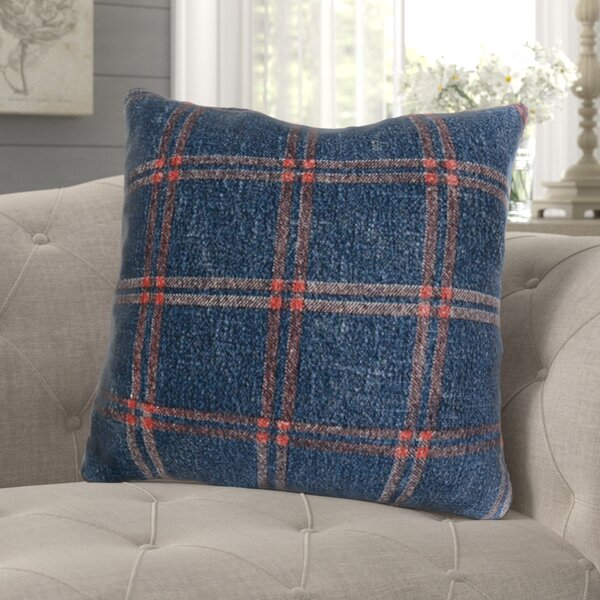 Bartle Cotton Throw Pillow by Gracie Oaks