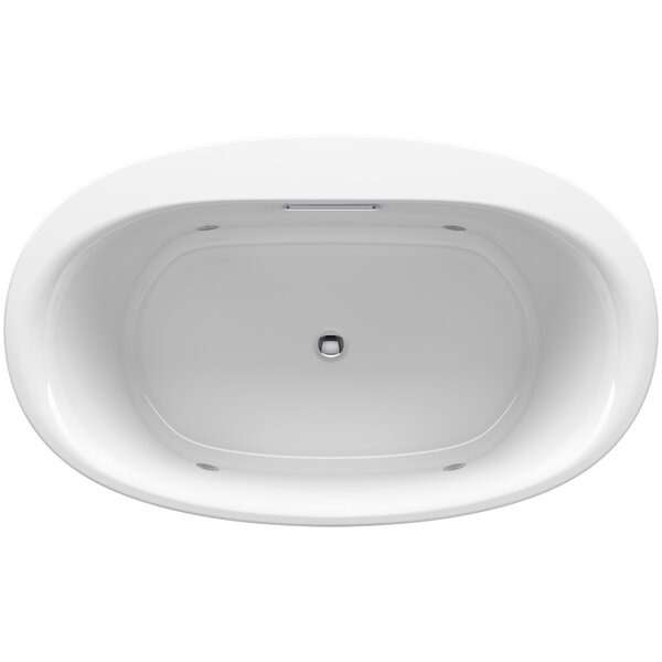 Underscore Oval Drop-in VibrAcoustic® Bath with Chromatherapy by Kohler