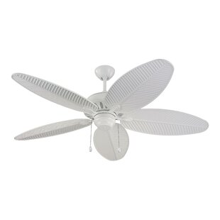 Compare 52 Kateri 5 Blade Outdoor Ceiling Fan By Beachcrest Home