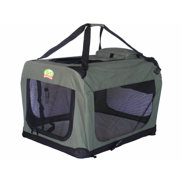Soft Pet Crate by Go Pet Club