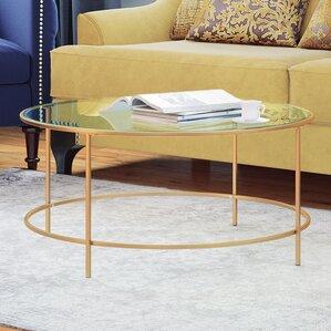 find the best round coffee tables   wayfair