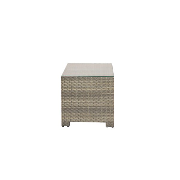 Norfolk Plastic/Resin Side Table by Rosecliff Heights