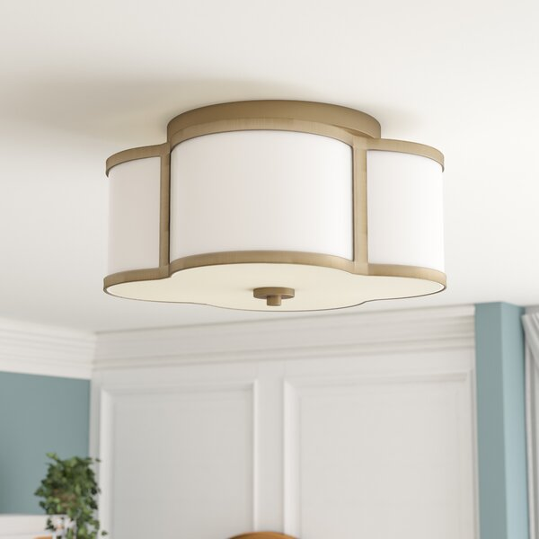 Chitwood 3-Light Flush Mount by Willa Arlo Interiors