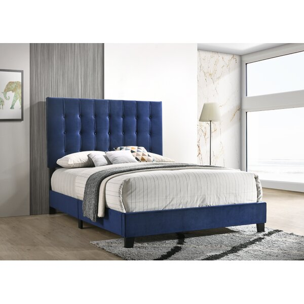Marnie Upholstered Standard Bed by Mercer41
