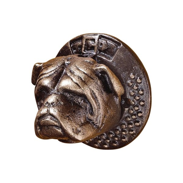 Bulldog Authentic Foundry Iron Door Knocker by Design Toscano
