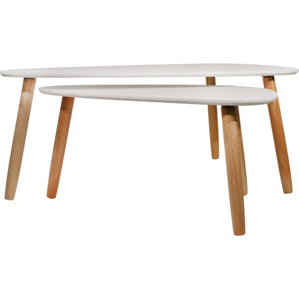 Deen 2 Piece Coffee Table Set by Hashtag Home Hashtag Home