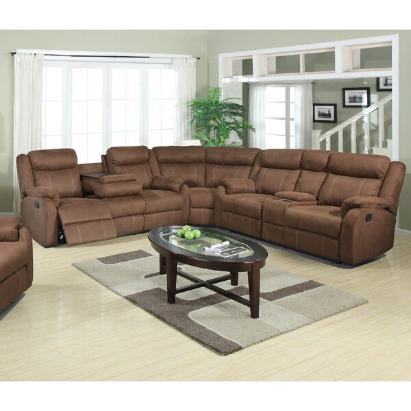#1 Brooten Motion Reclining Sectional By Winston Porter New