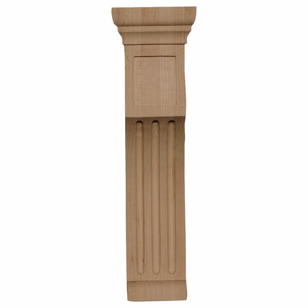 Recessed Groove 14H x 4W x 4D Corbel in Cherry by Ekena Millwork