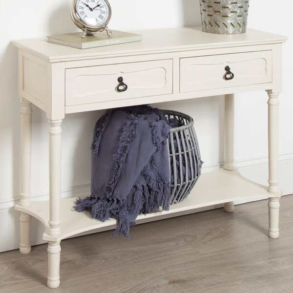 Delmonte Wood Console Table By Ophelia & Co.