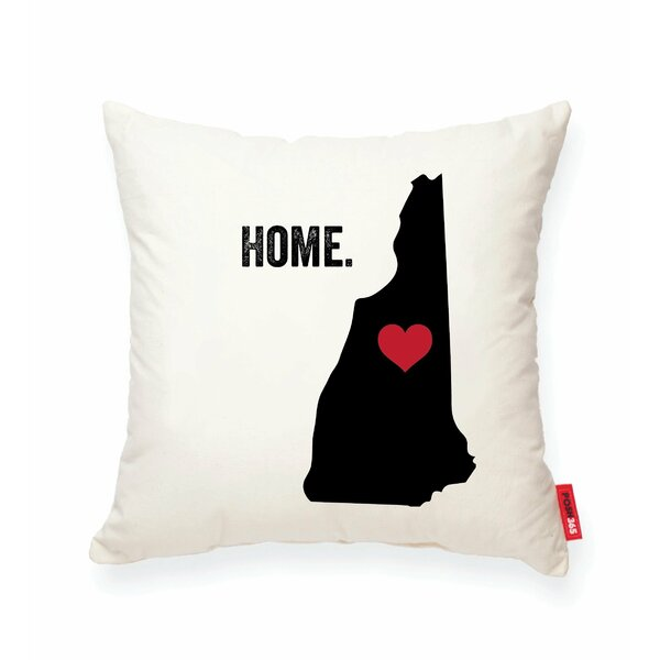 Pettry New Hampshire Cotton Throw Pillow by Wrought Studio